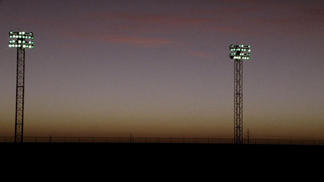 The stadium lights from  Friday Night Lights  - © 2006 NBC Studios, Inc.