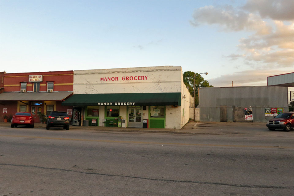 Lamson's Grocery from the front