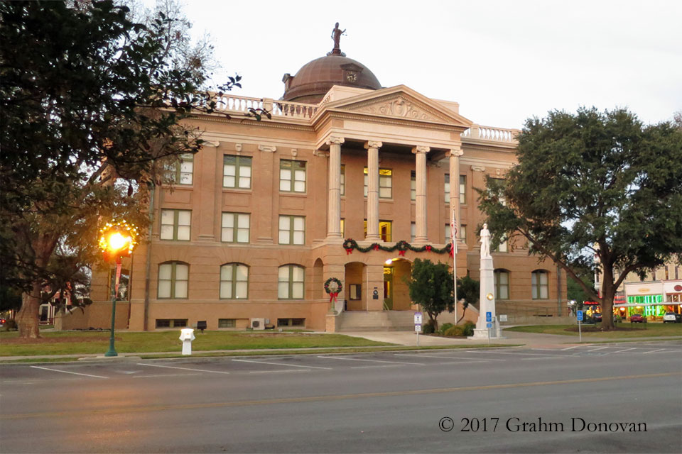 Downtown Fairview Courthouse