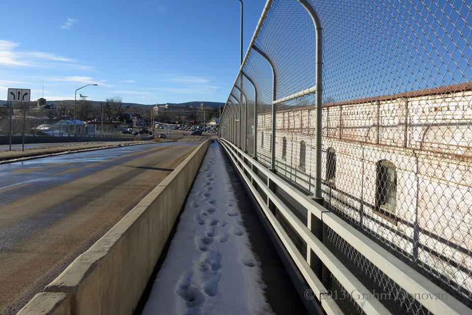 Copy of Border Crossing Bridge - Looking at the U.S. Side