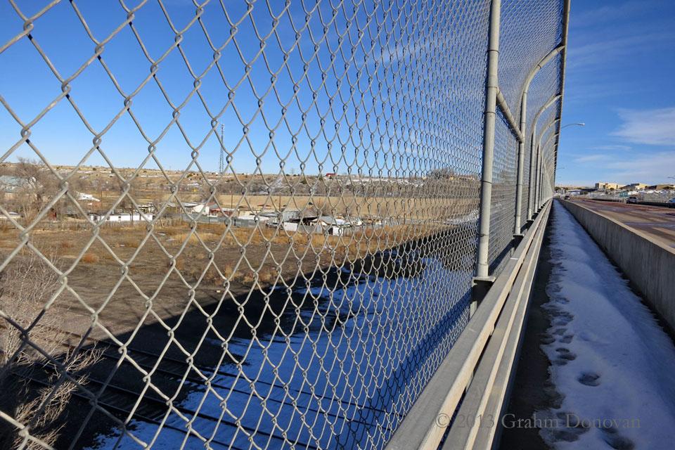 Copy of Under the Border Crossing Bridge