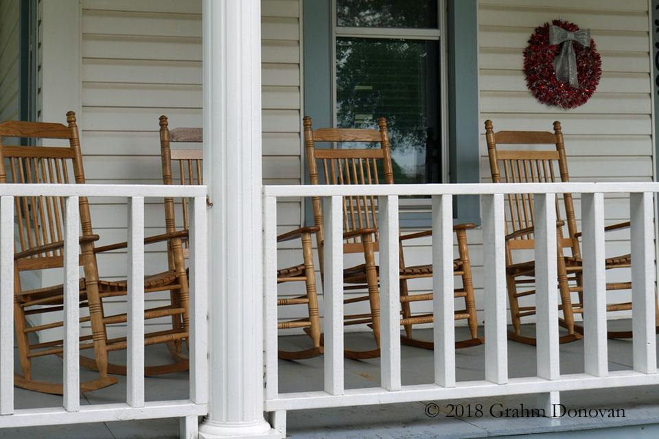 Rhodes House - Front Porch