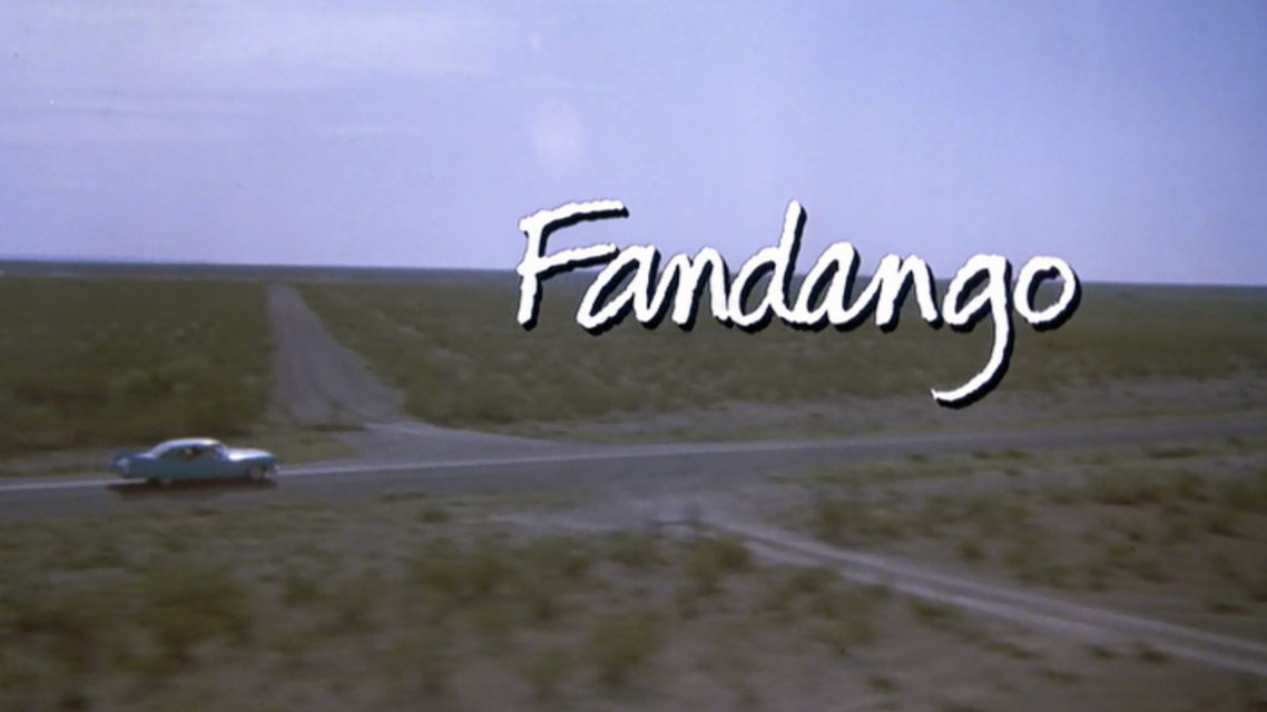 Fandango  © 1984 Warner Brothers, Inc.