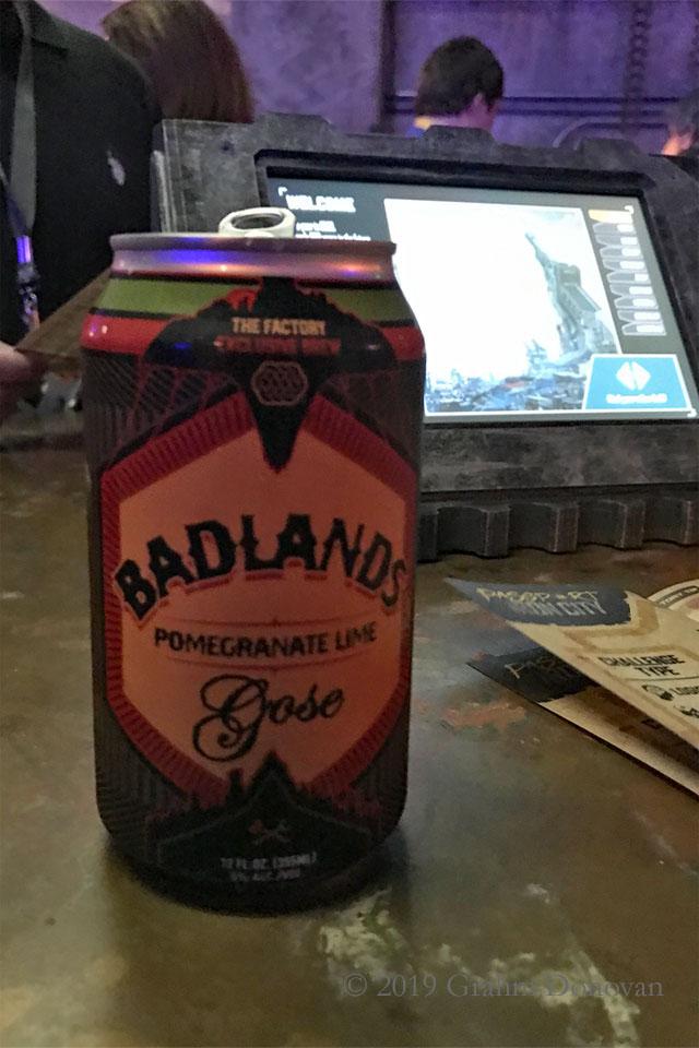 Badlands Beer
