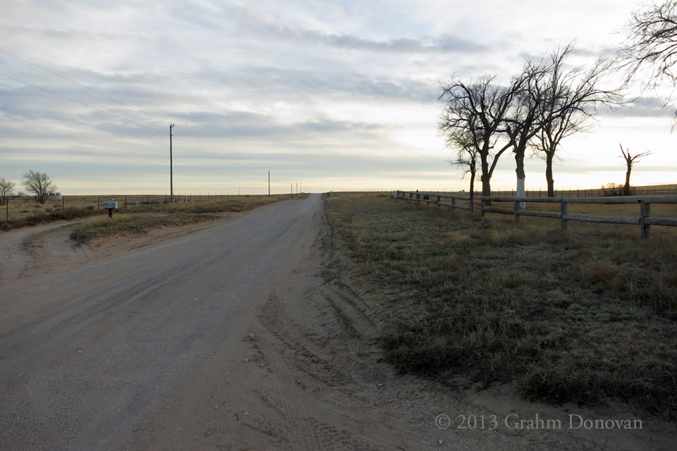 The Road to Bettina's Ranch