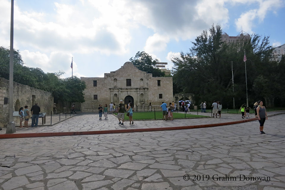 The Alamo, as seen in September 2012