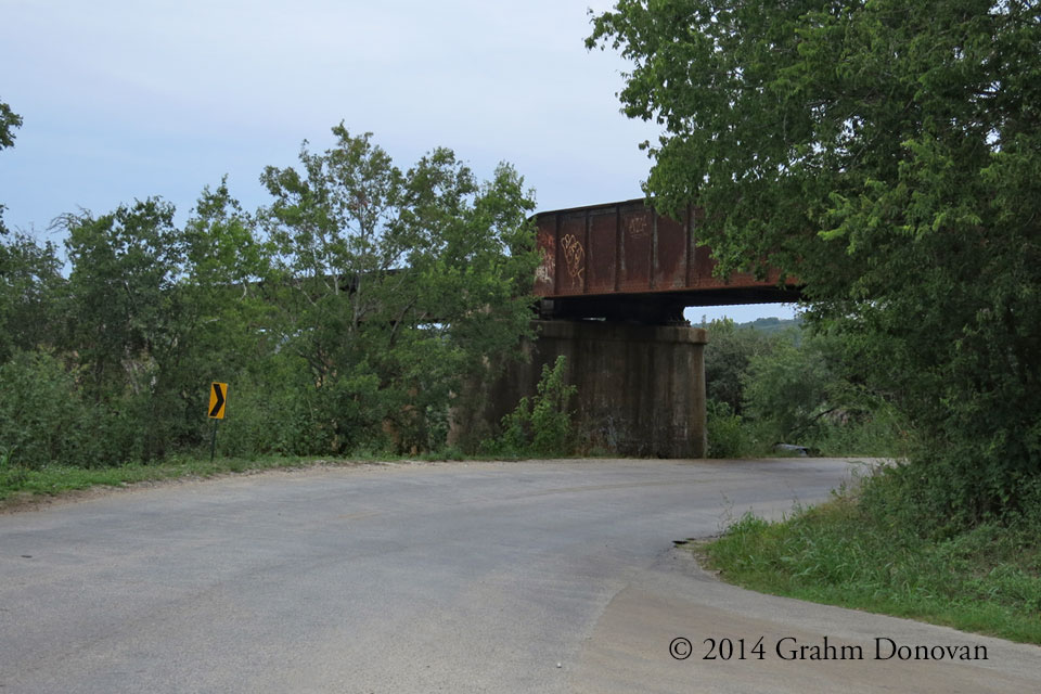 Low Hanging Railroad Bridge