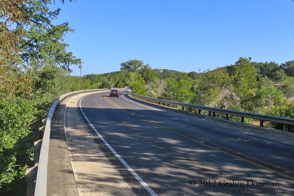 Red Pickup Bridge