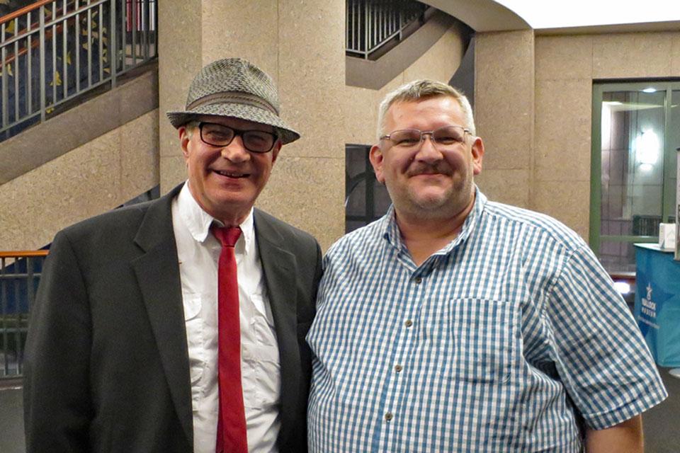 Meeting Gary Chason