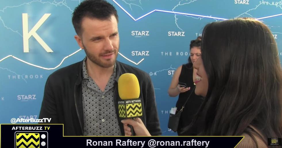 Ronan Raftery - Robert Gestalt on The Rook