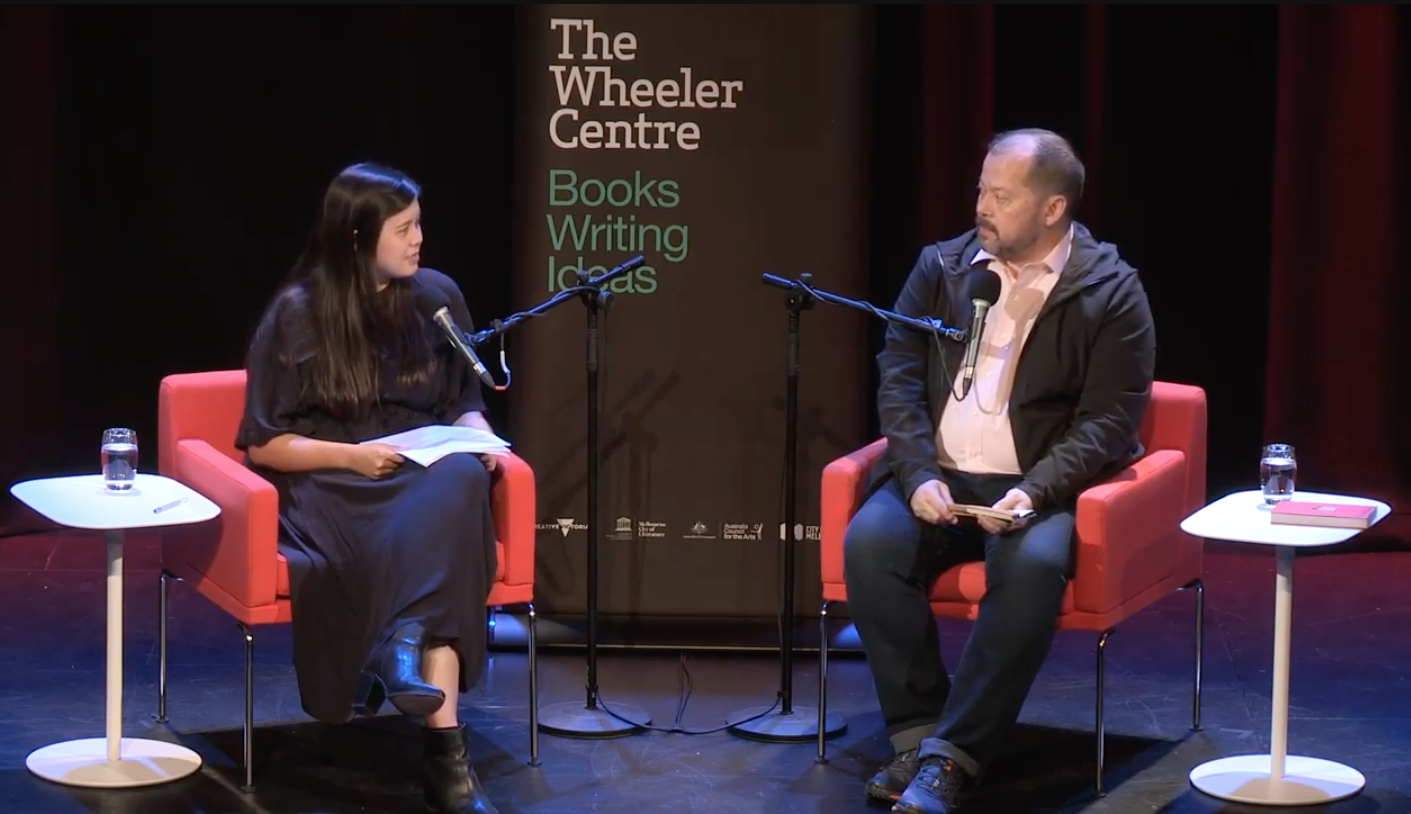In conversation with Alexander Chee, The Wheeler Centre