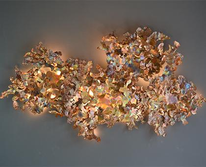 Copper Leaf wall light.JPG