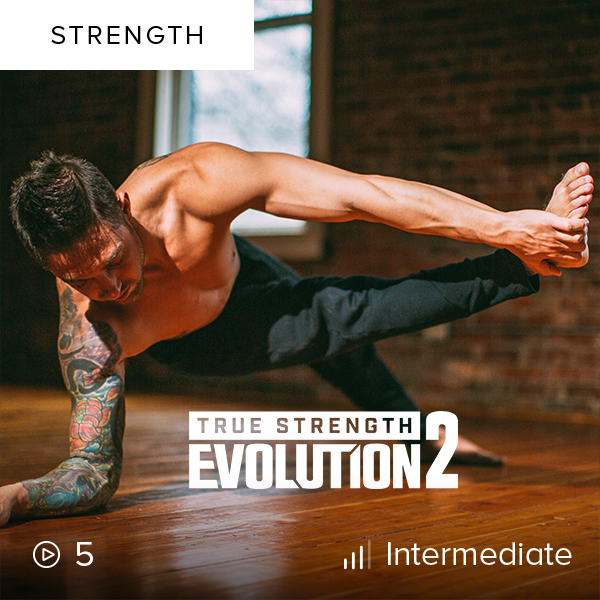 True Strength Evolution 2    Challenge your limits in part II of True Strength Evolution, where you'll work through new, fun complexes that will leave you stronger and more agile.