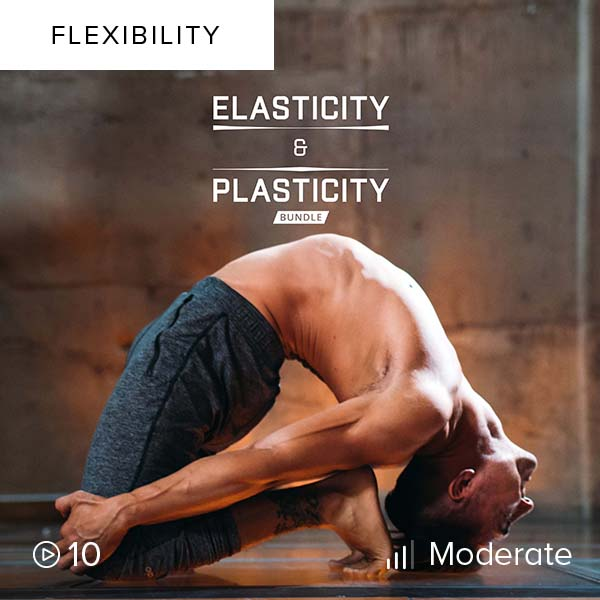 Elasticity & Plasticity Bundle    Train the fascia with dynamic, rebounding motions and remold it for improved mobility and flexibility, promoting healthier movement.