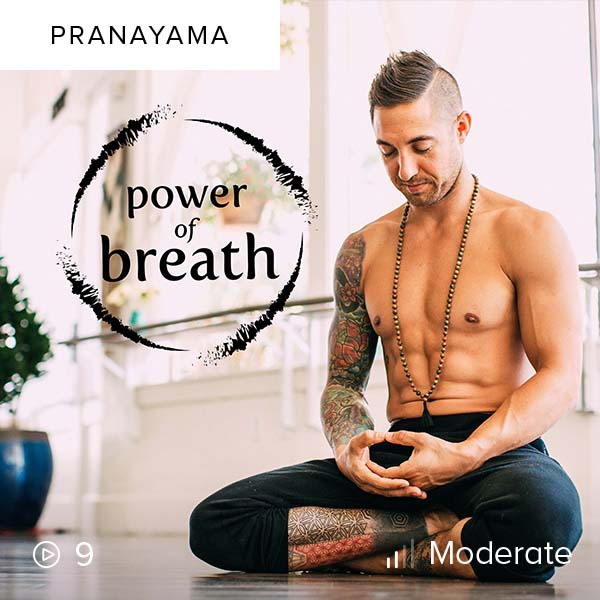Power of Breath    Harness your breath and gain control over your body and mind, extending vitality through breathing techniques and pranayama.