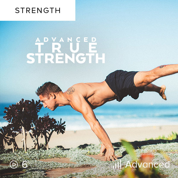 Advanced True Strength    Gain even more strength as you push yourself harder than ever before in this full body strength building workout plan.