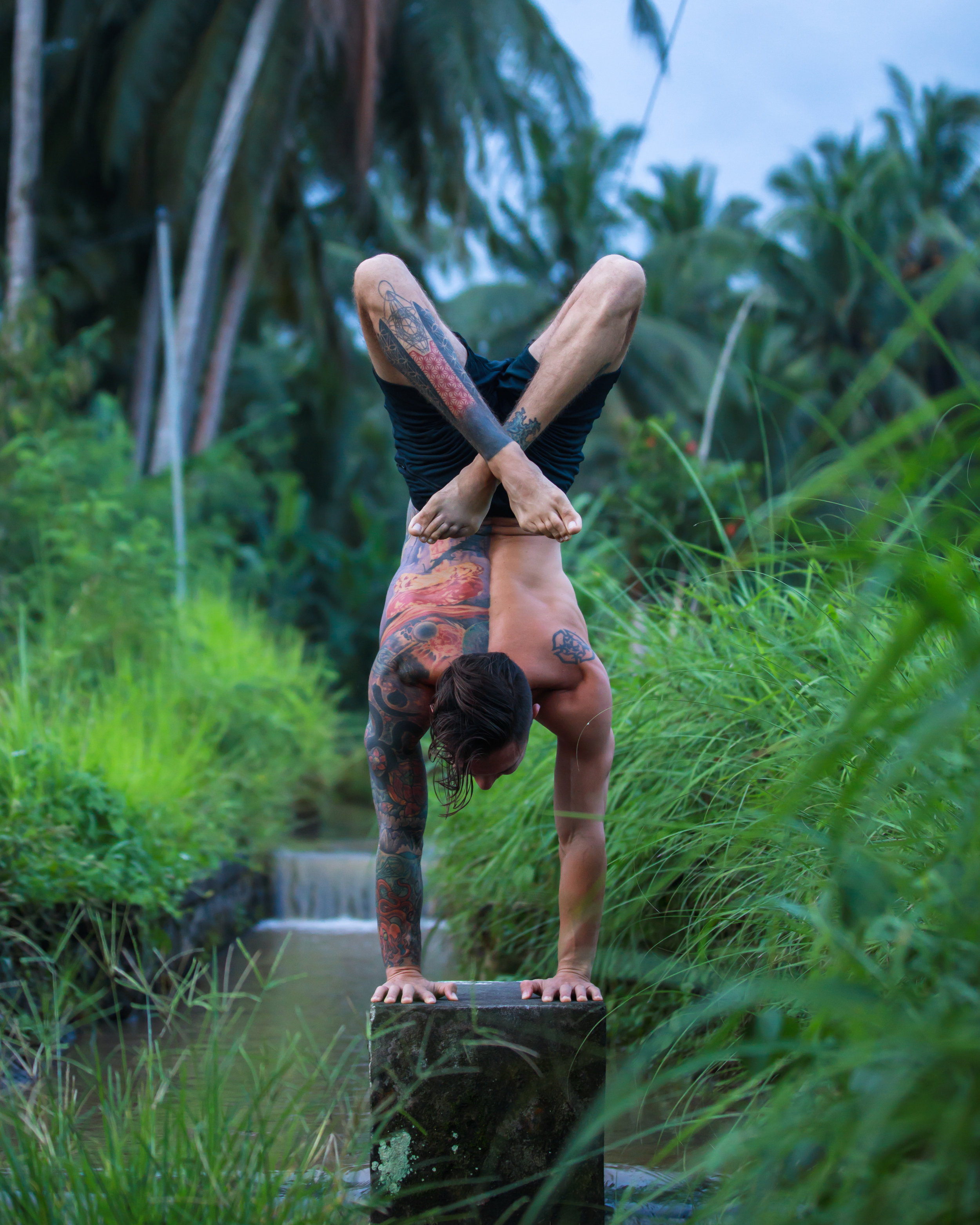 Daily Schedule - Monday8:00 am – 9:00 am Guided Meditation and Sequenced Pranayama Practice9:00 am – 12:00 pm Spiral Line Myofascial Meridian Sequenced Vinyasa Class2:00 pm – 5:00 pm Inversion conditioning training and flexibility work, handstand line basics, refined handstand entryTuesday8:00 am – 9:00 am Guided Meditation and Sequenced Pranayama Practice9:00 am – 12:00 pm Lateral Line Myofascial Meridian Sequenced Vinyasa Class2:00 pm – 5:00 pm Inversion conditioning training and flexibility work, line work, moving shapes and changing drishti, one arm handstand trainingWednesday8:00 am – 9:00 am Guided Meditation and Sequenced Pranayama Practice9:00 am – 12:00 pm Functional Line and Deep Front Line Myofascial Meridian Sequenced Vinyasa Class2:00 pm – 5:00 pm Inversion conditioning and flexibility work, hollowbacks, Handstand flags, one arm handstand trainingThursday8:00 am – 9:00 am Guided Meditation and Sequenced Pranayama Practice9:00 am – 12:00 pm Superficial Front line and Superficial Back line Myofascial Meridian Sequenced Vinyasa Class2:00 pm – 5:00 pm Inversion conditioning and flexibility work, Press Handstand, Stalder Press, Arm Balance Press Transitions, one arm handstand trainingFriday8:00 am – 9:00 am Guided Meditation and Sequenced Pranayama Practice9:00 am – 12:00 pm Spiral line and Lateral Line Myofascial Meridian Sequenced Vinyasa Class2:00 pm – 5:00 pm Inversion conditioning and flexibility work, one arm handstand training