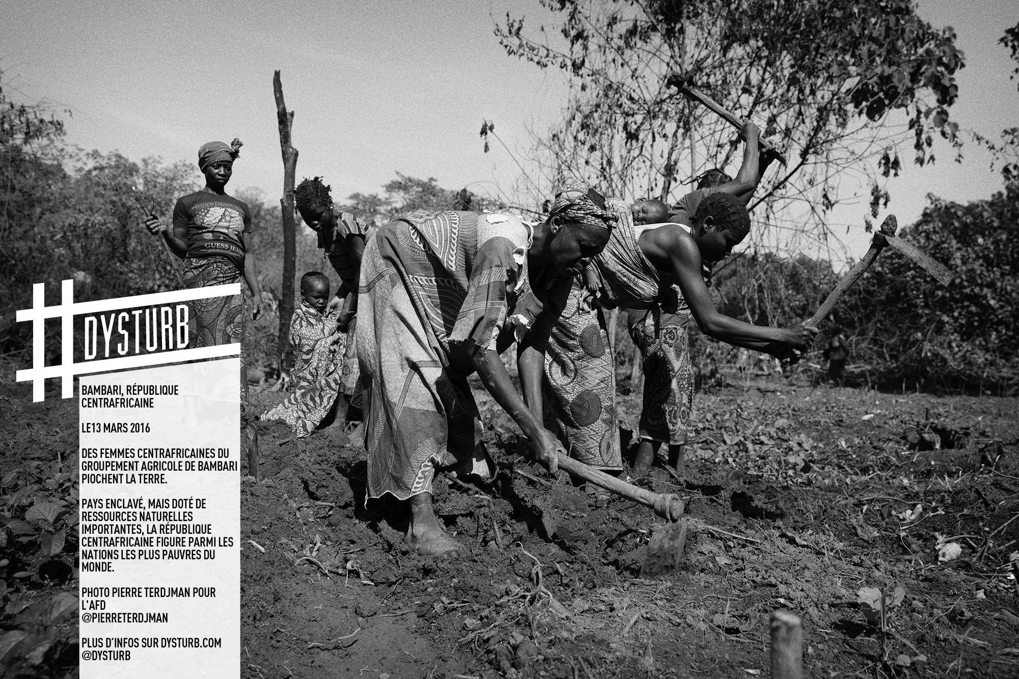 Agriculture - Pauvreté