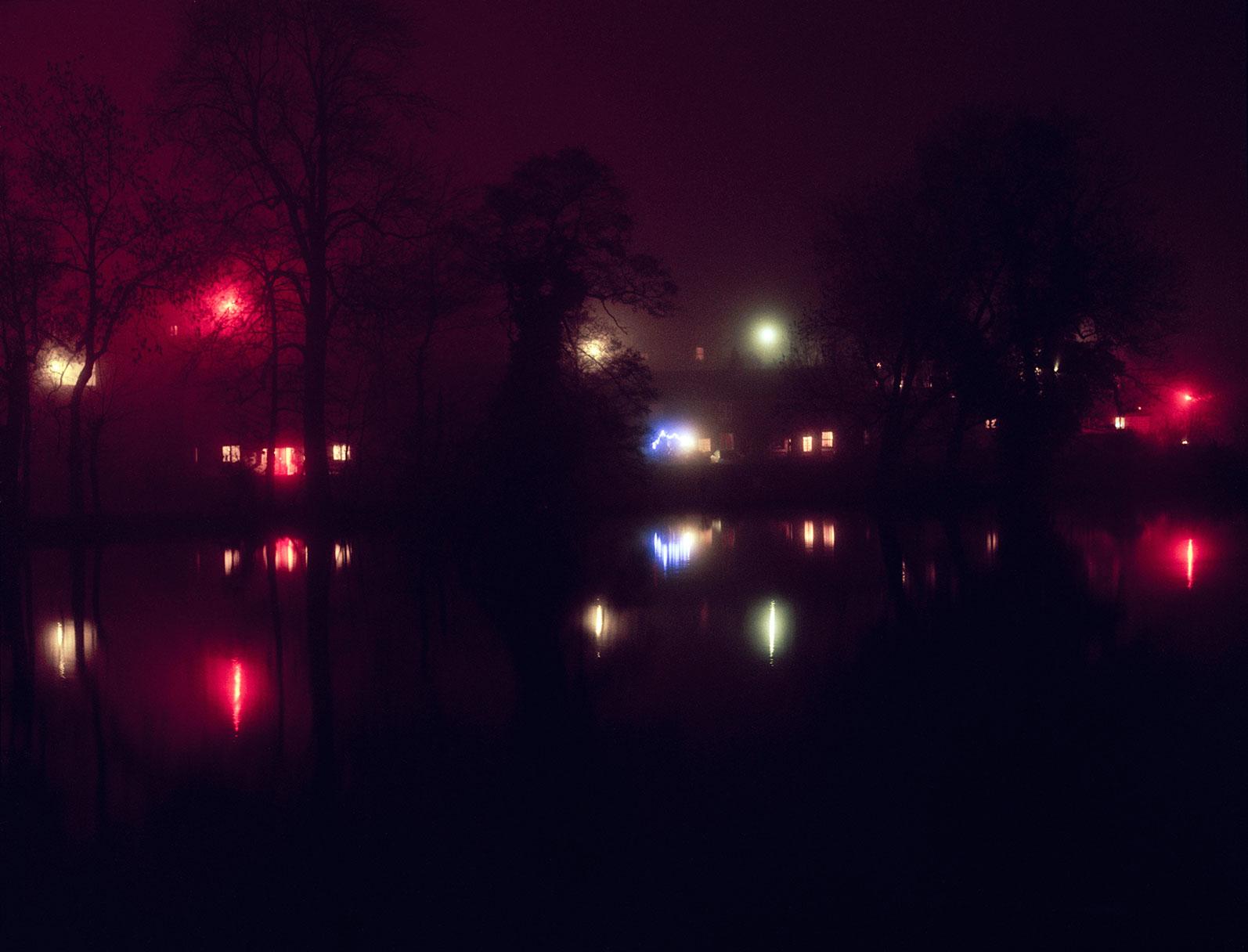 a misty night - f.