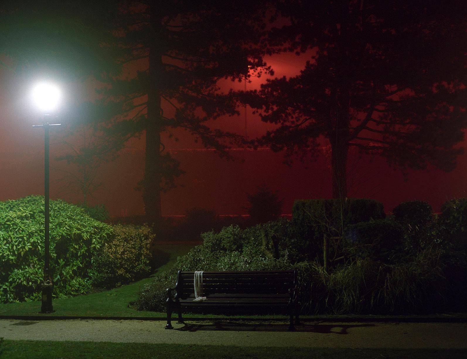a misty night - e