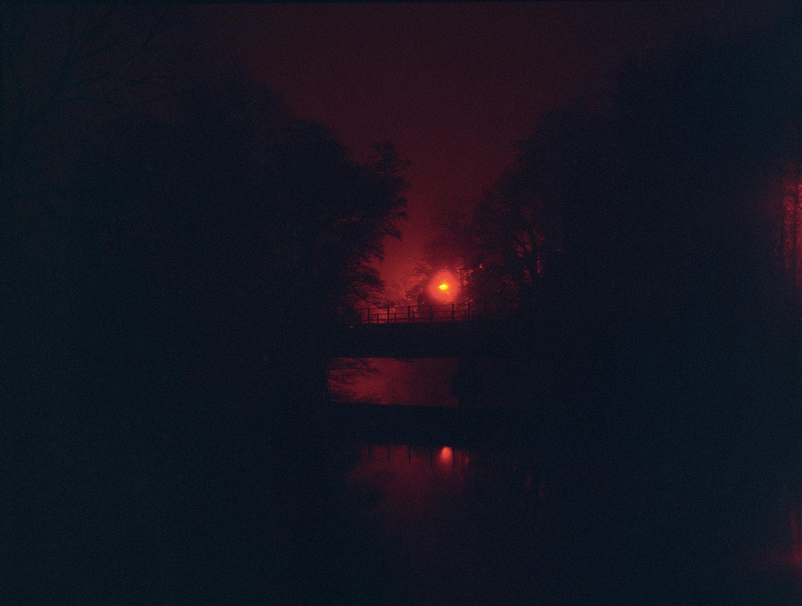 a misty night - g.