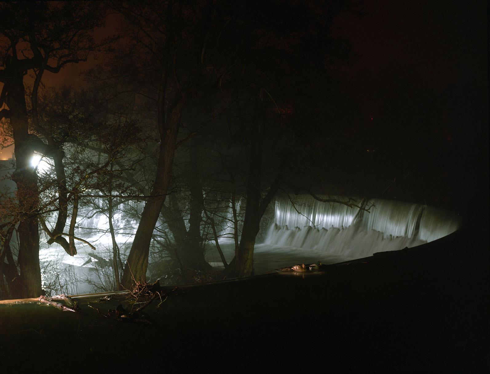 a misty night - b.