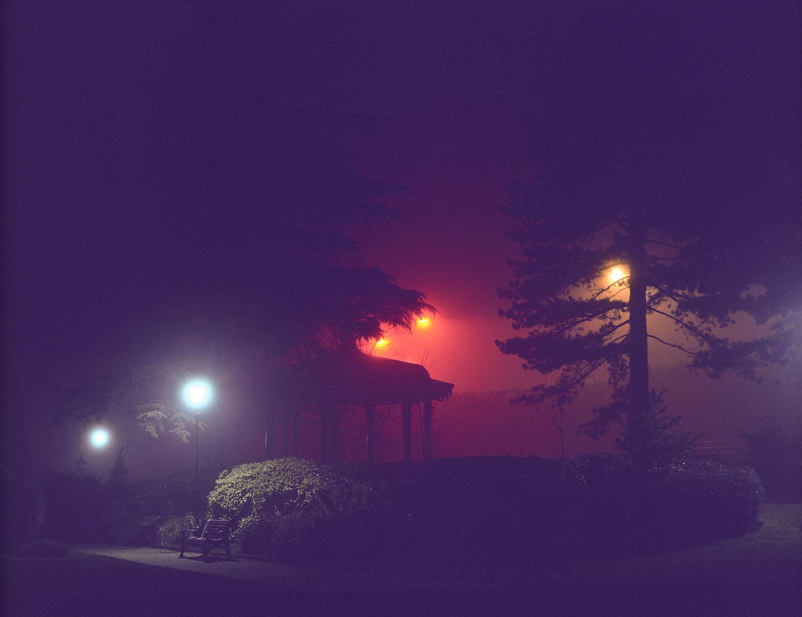 a misty night - d.