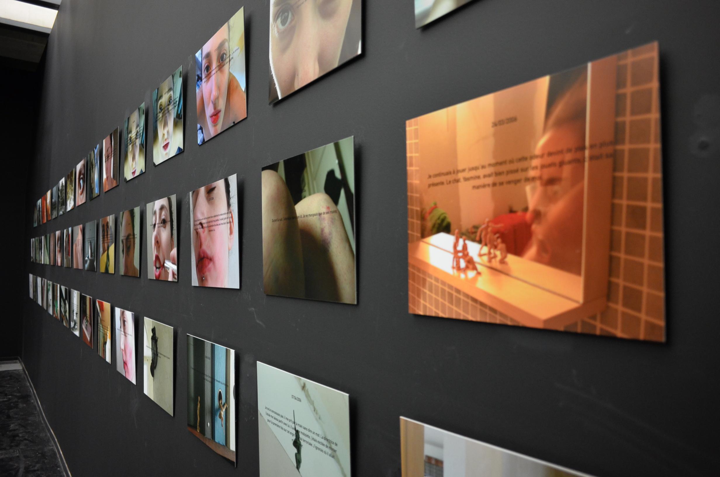 Exhibition at the Institut du monde arabe, Paris, 2015