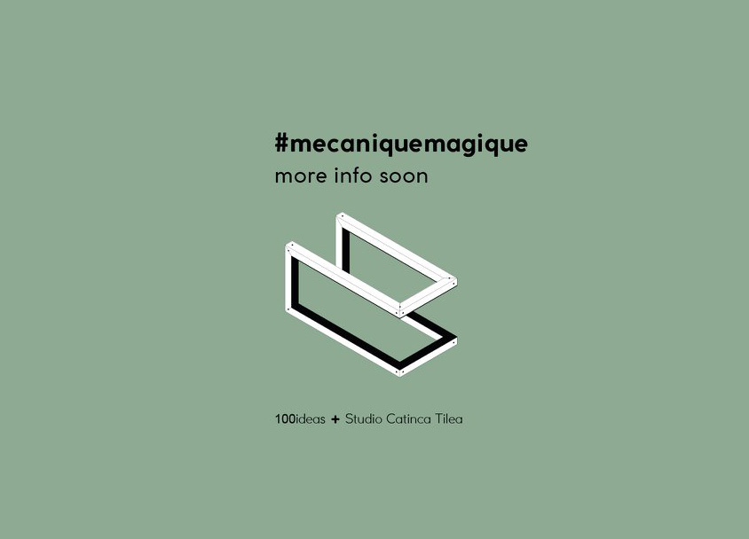 Mecanique Magique  is a very soon to be launched project that Studio Catinca Tilea developed in collaboration with  100 Ideas , for the  Horta Museum  in Brussels. I wouldn't want to spoil the surprise, but the project is freshly out of production and it will see the public next week in a double opening, first during this year's Collectibles design fair in Brussels, and very soon after with the exhibition 'Collector Collection' hosted by the Horta museum. Curious to find out more? Join us in Brussels or keep tuned online.   Collectibles design fair  //  14 – 17 March 2019    Vanderborght building, Rue de l' Ecuyer 50 Schildknaapstraat, 1000 Brussels,   map     Horta Museum  //  Rue Américaine 25, 1060 Brussels (Saint-Gilles),   map