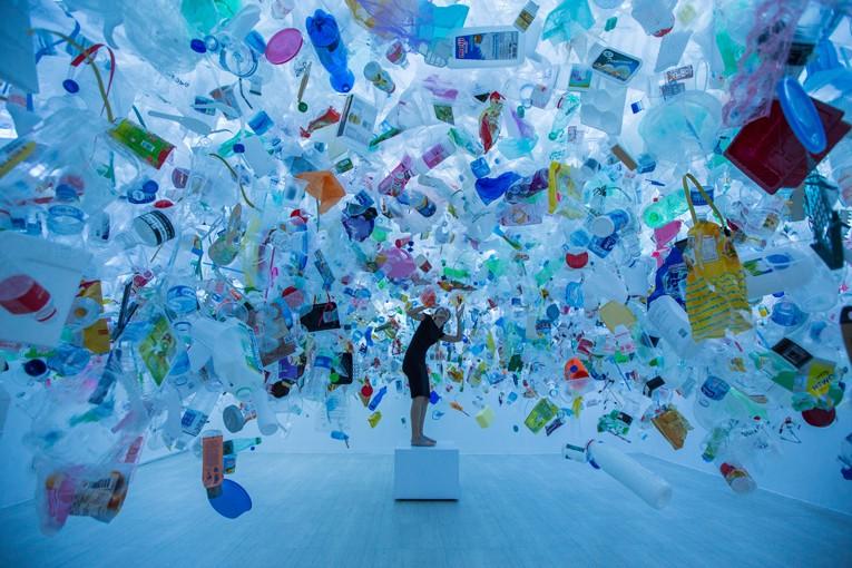 """Plastic Ocean"" by Tan Zi Xi. Photo credits © Verve Magazine;   visit website"