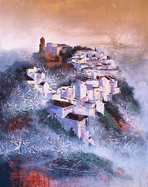 'Casares in the Clouds'     SOLD