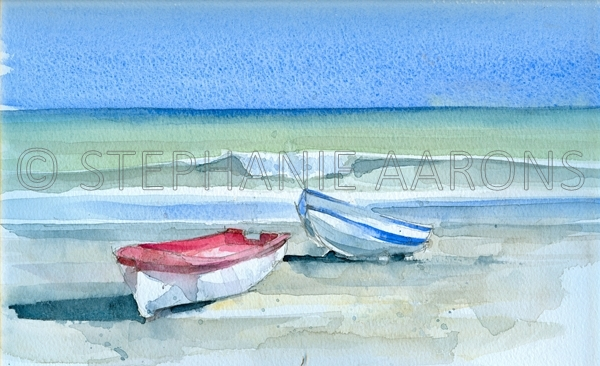 'Sabinillas Fishing Boats'