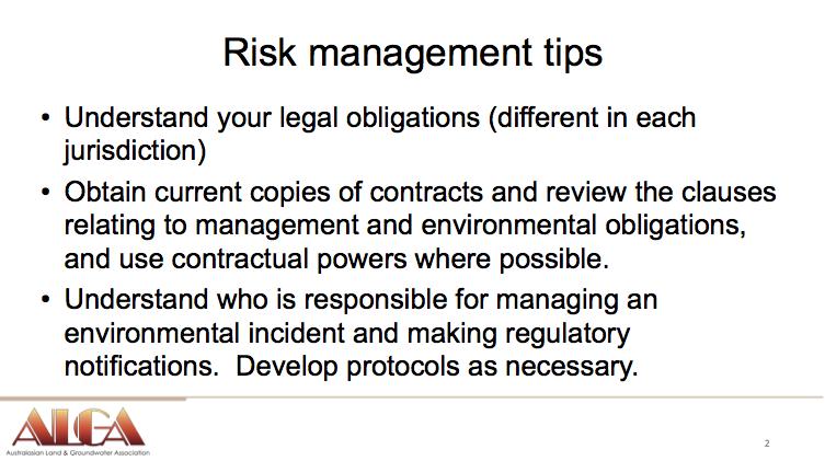 Gabrielle Guthrie Proactive Tips Risk Management Contractors