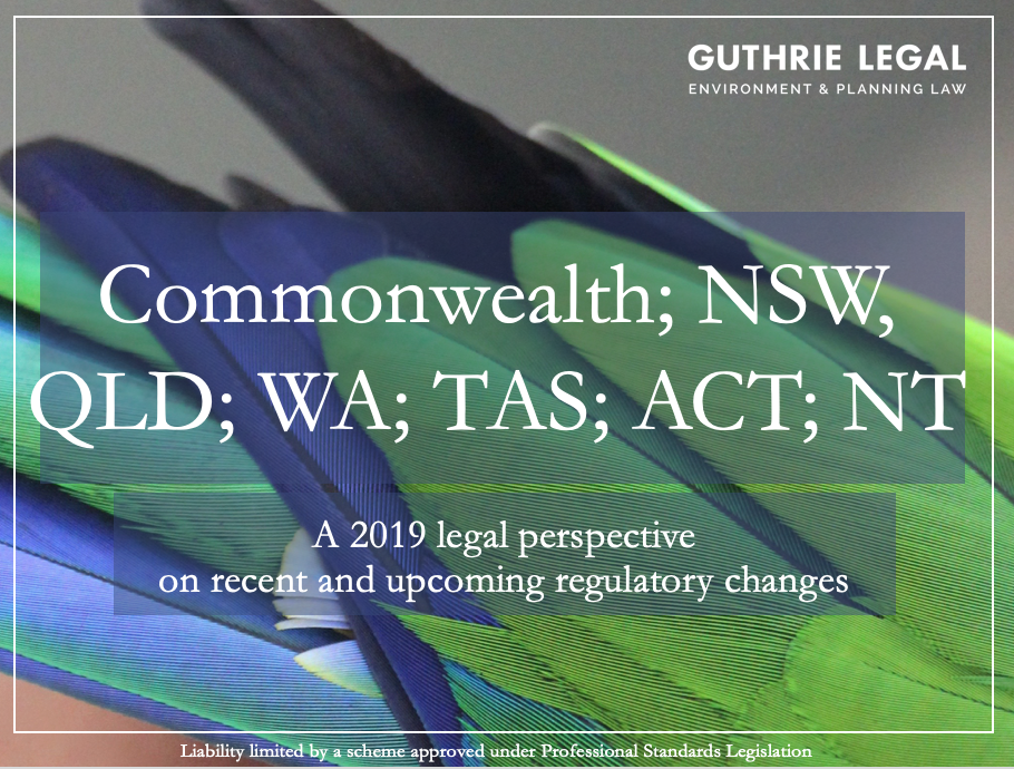 National Update on 2019 environmental laws