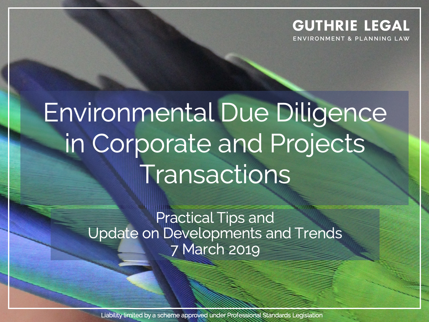 Guthrie Legal Environmental Due Diligence
