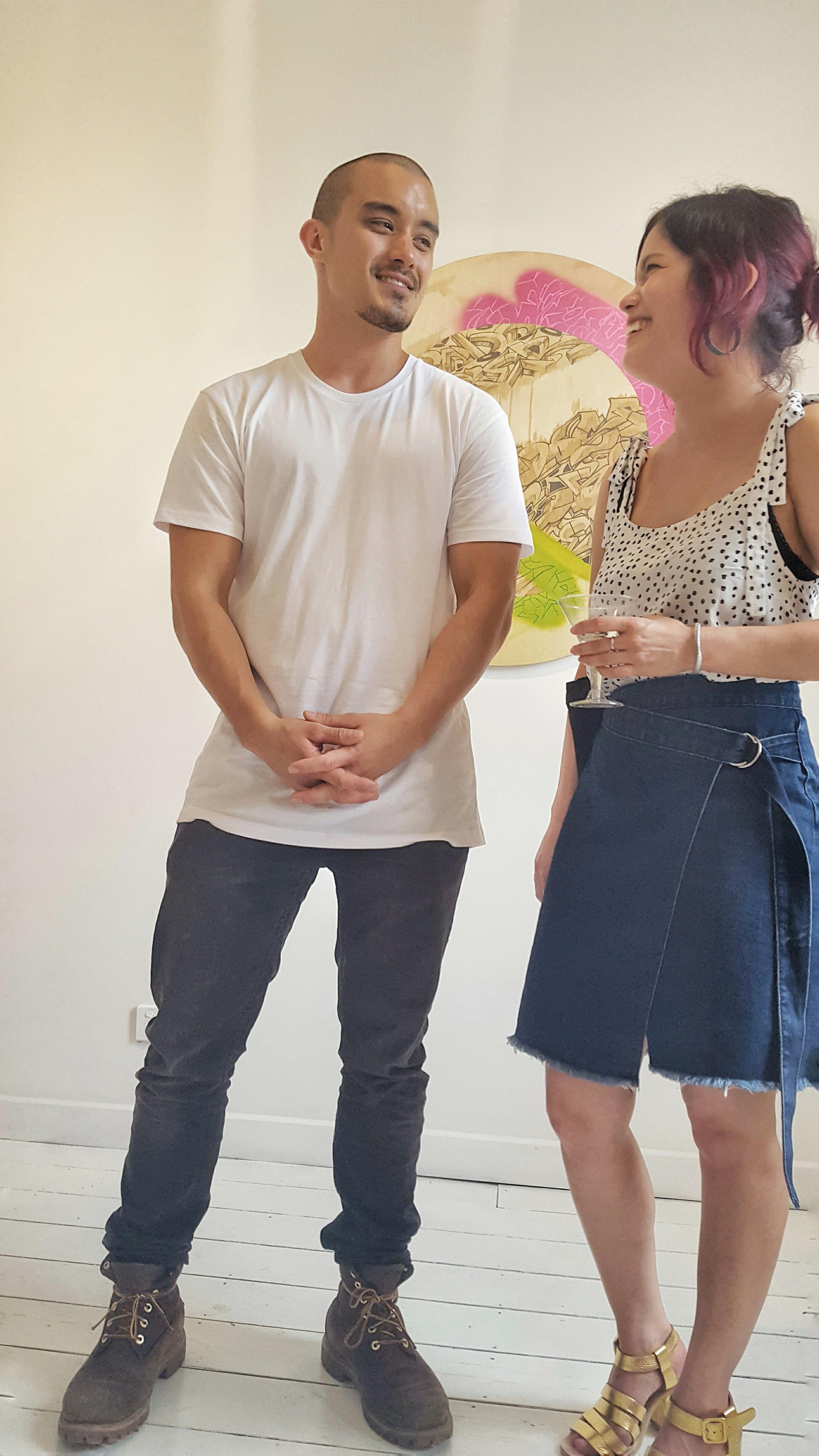 PANT Active Designers, siblings Brenton and Deborah Loh