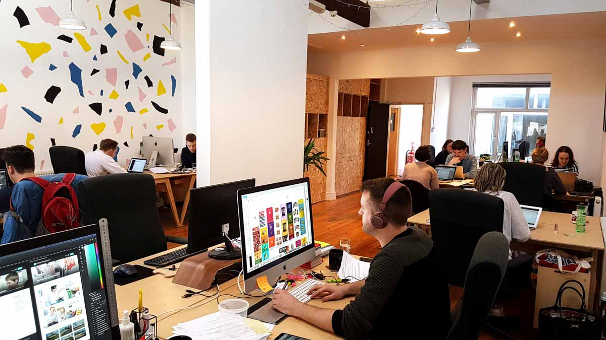 Creative coworking space for freelancers and entrepreneurs