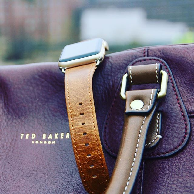 Our Saddle Tan in good company @ted_baker #applewatchband #applewatch #applewatch2 #applesfresh #islingtonwatches #appledroidr #style #fashion #watches #apple #iphone #mensfashion