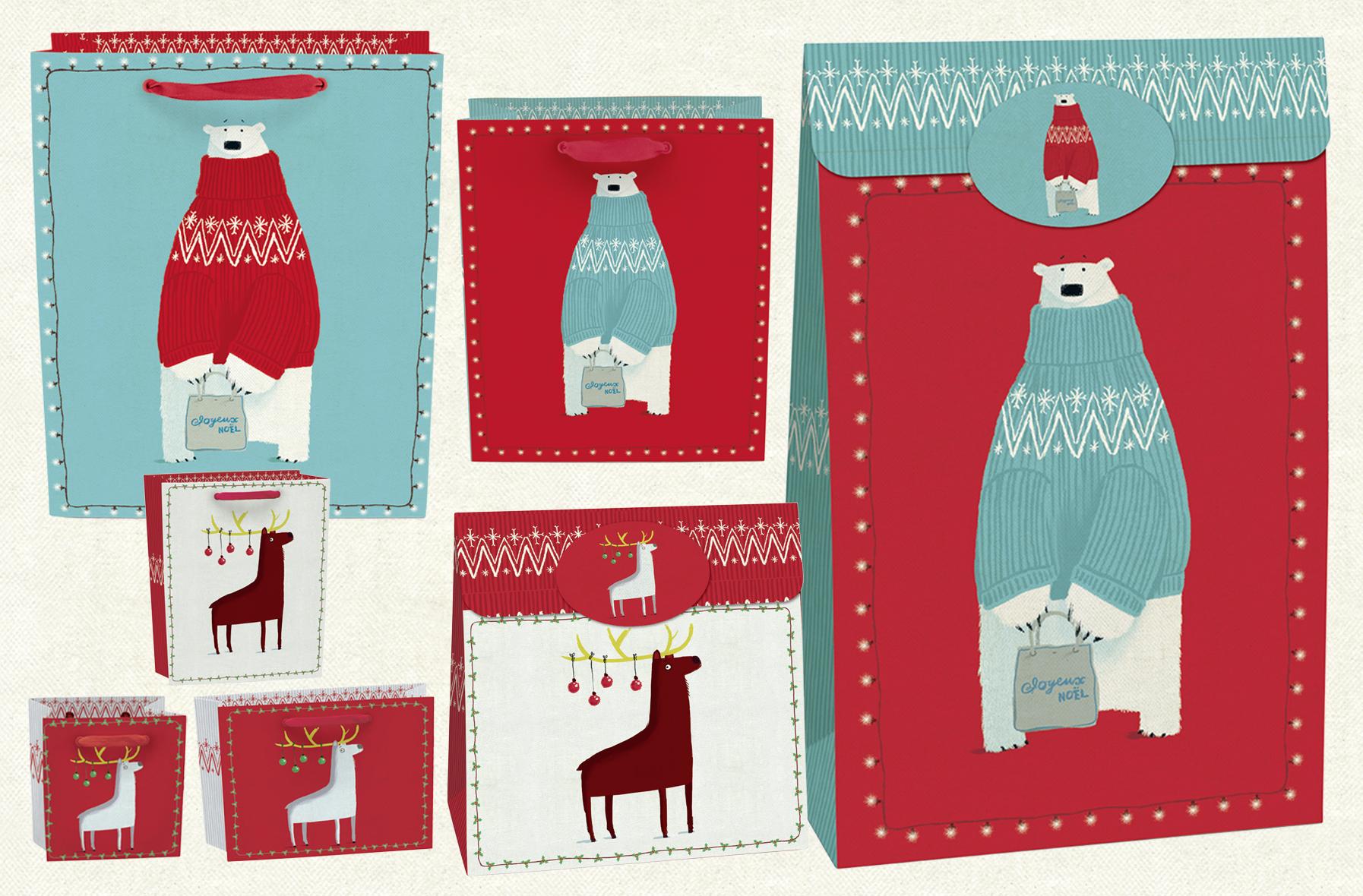 Joyeux     No   ë   l  Christmas gift bags. Click  here to browse the Christmas range.