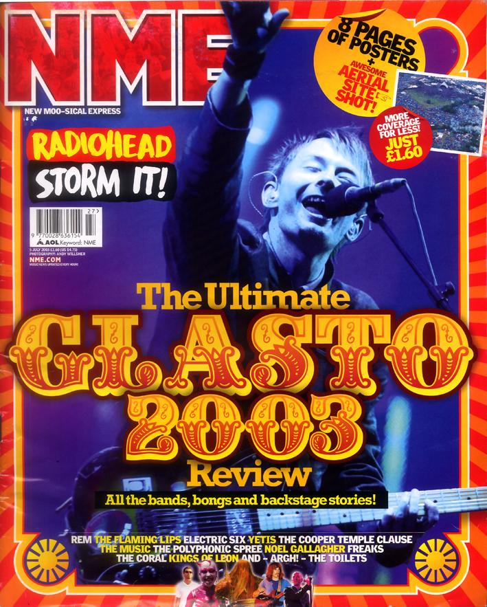 Glastonbury 2003 cover