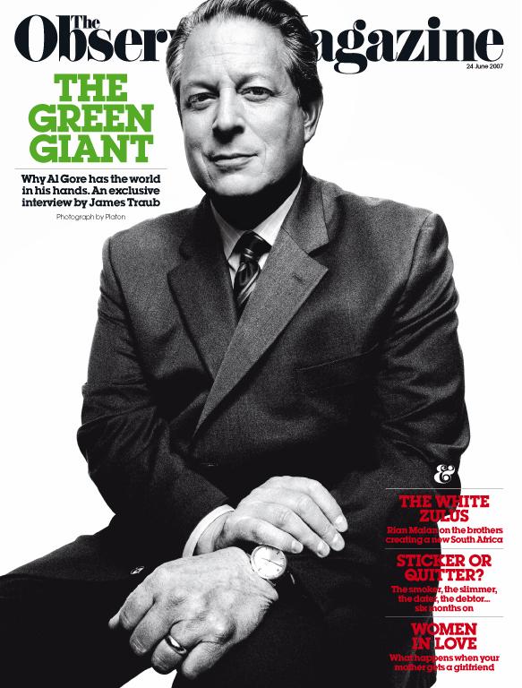 Al Gore cover