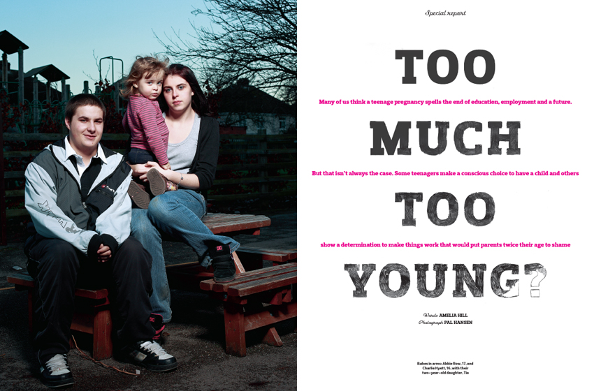 Too much too young feature