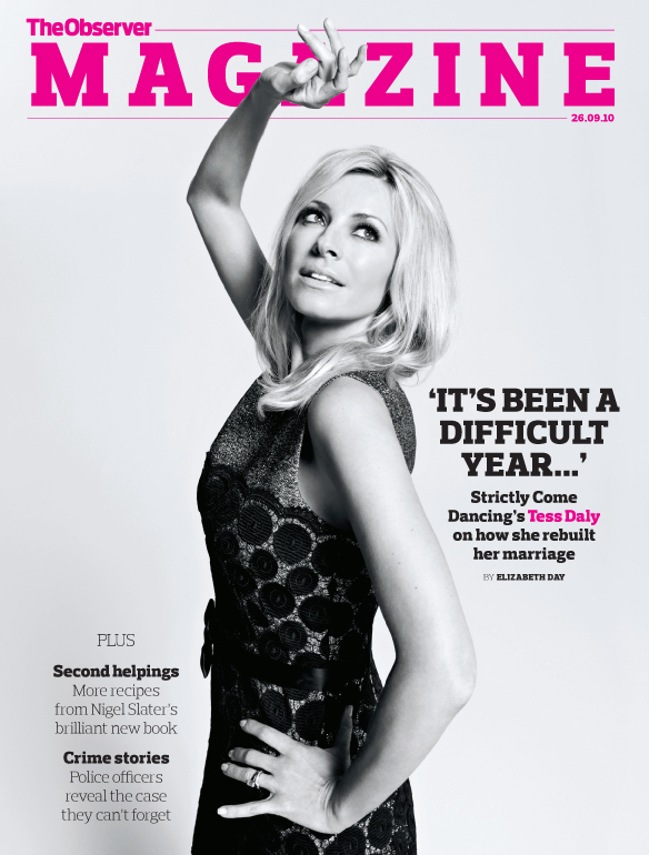 Tess Daly cover
