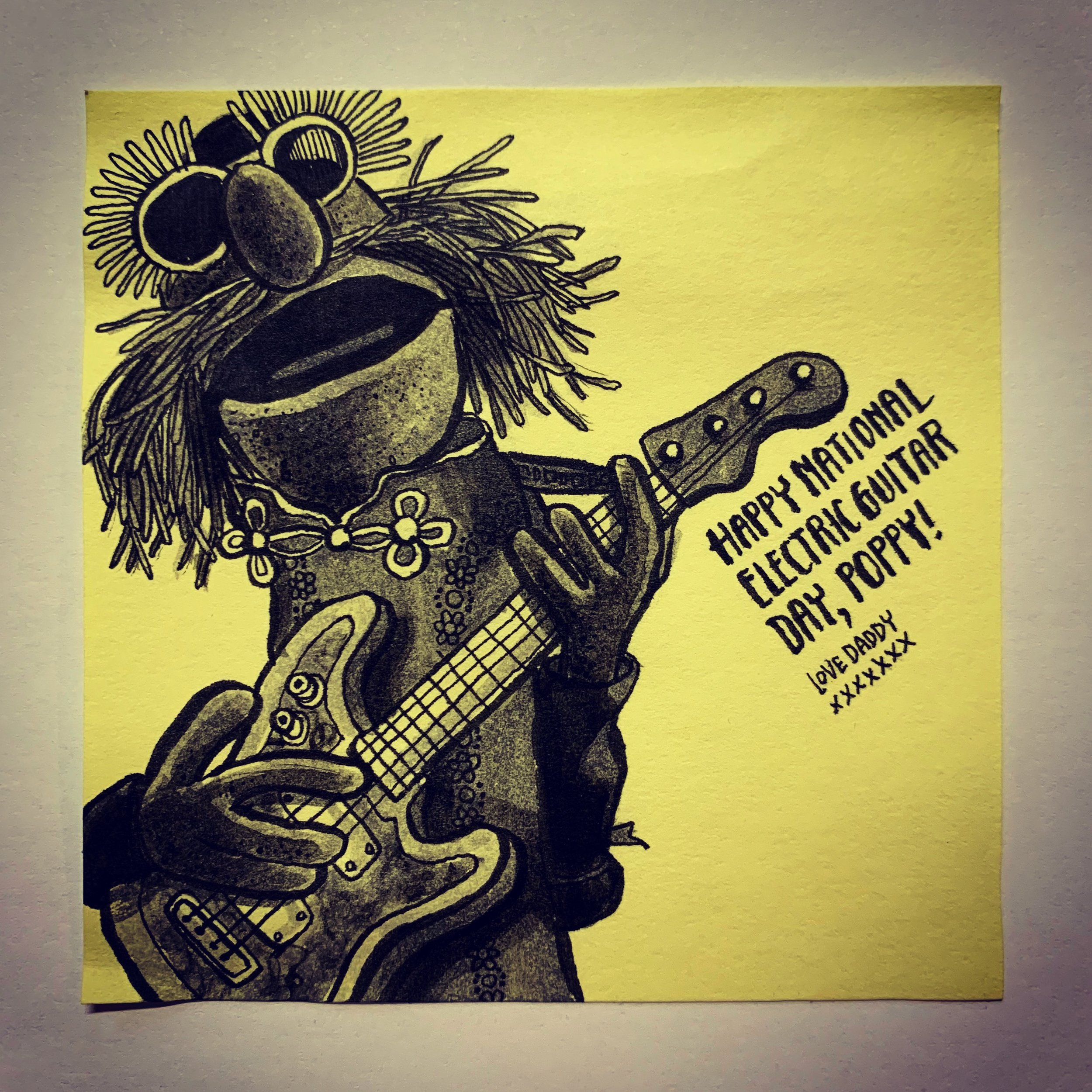 Floyd from Electric Mayhem