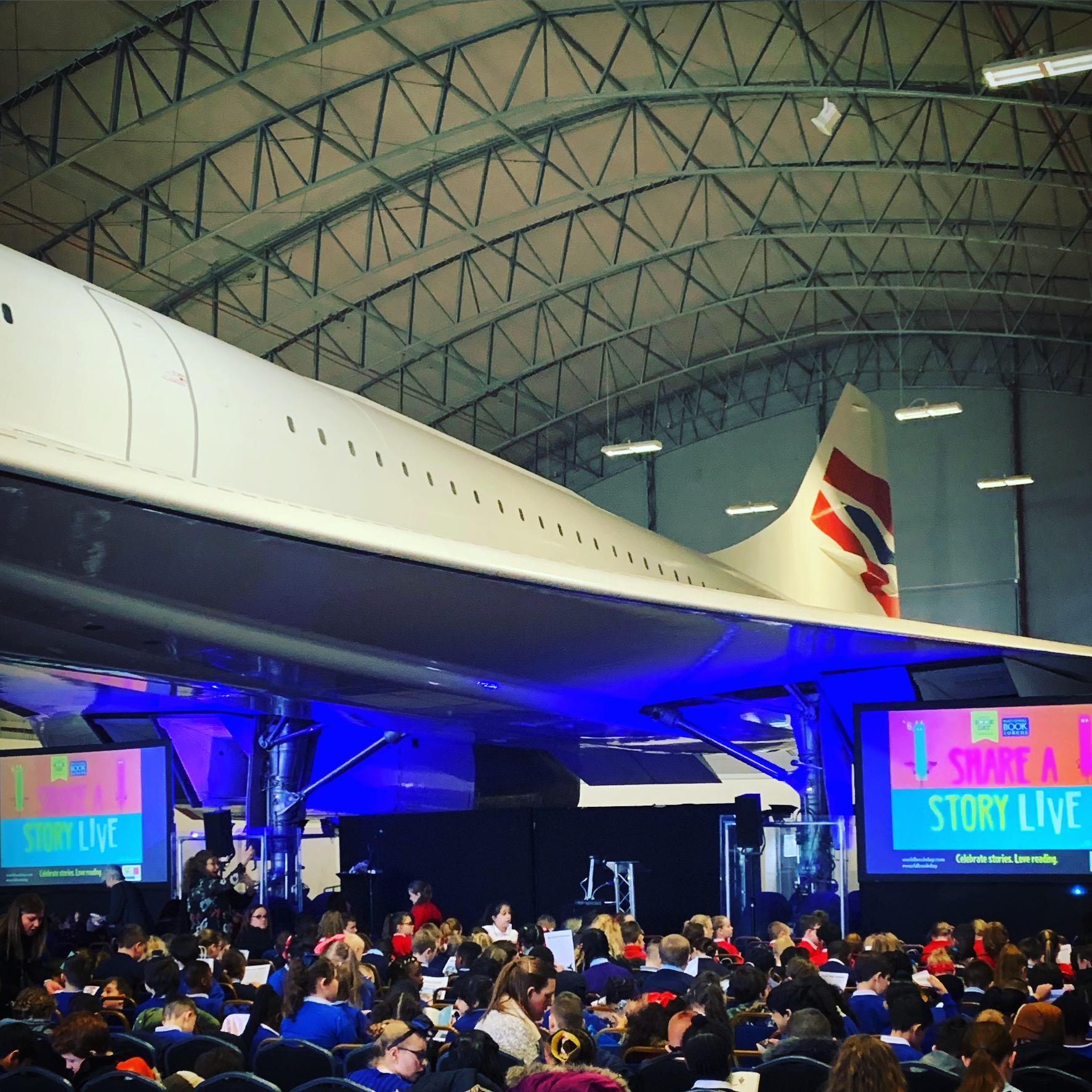 Underneath Concorde!
