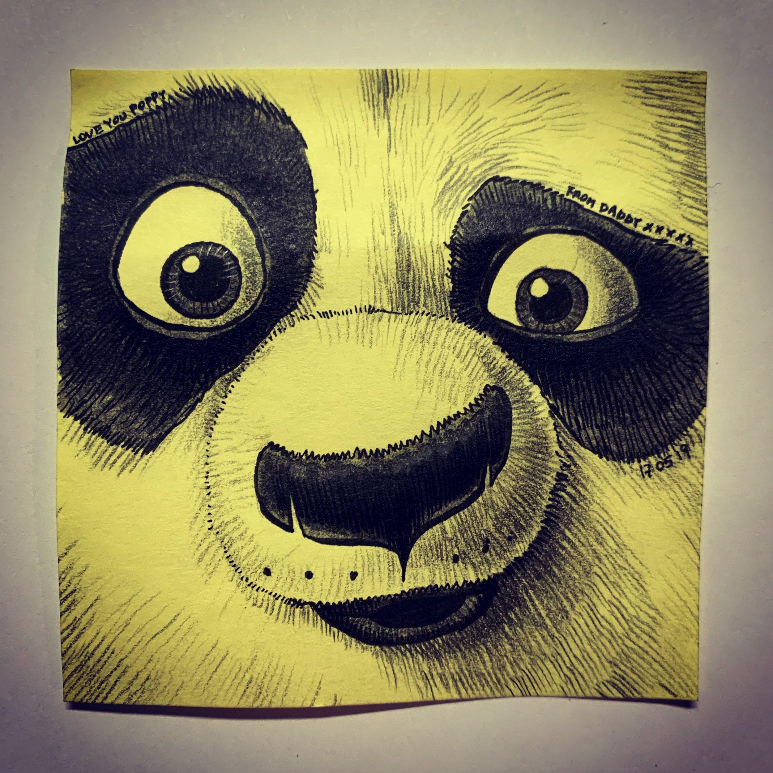 Po, the Kung Fu Panda
