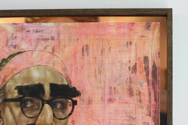 Cara Study XII (Groucho) Print Framed 2.JPG