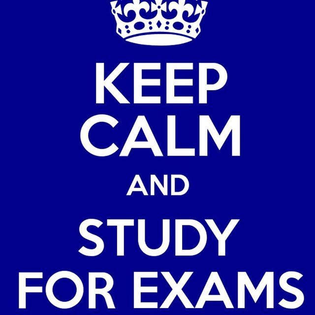 Keep calm and study for exams: just three more days left til A Levels are over! Wishing our lovely Year 13s lots of luck and energy for the next few important days #dontdroptheball #theendisnigh #keepcalm