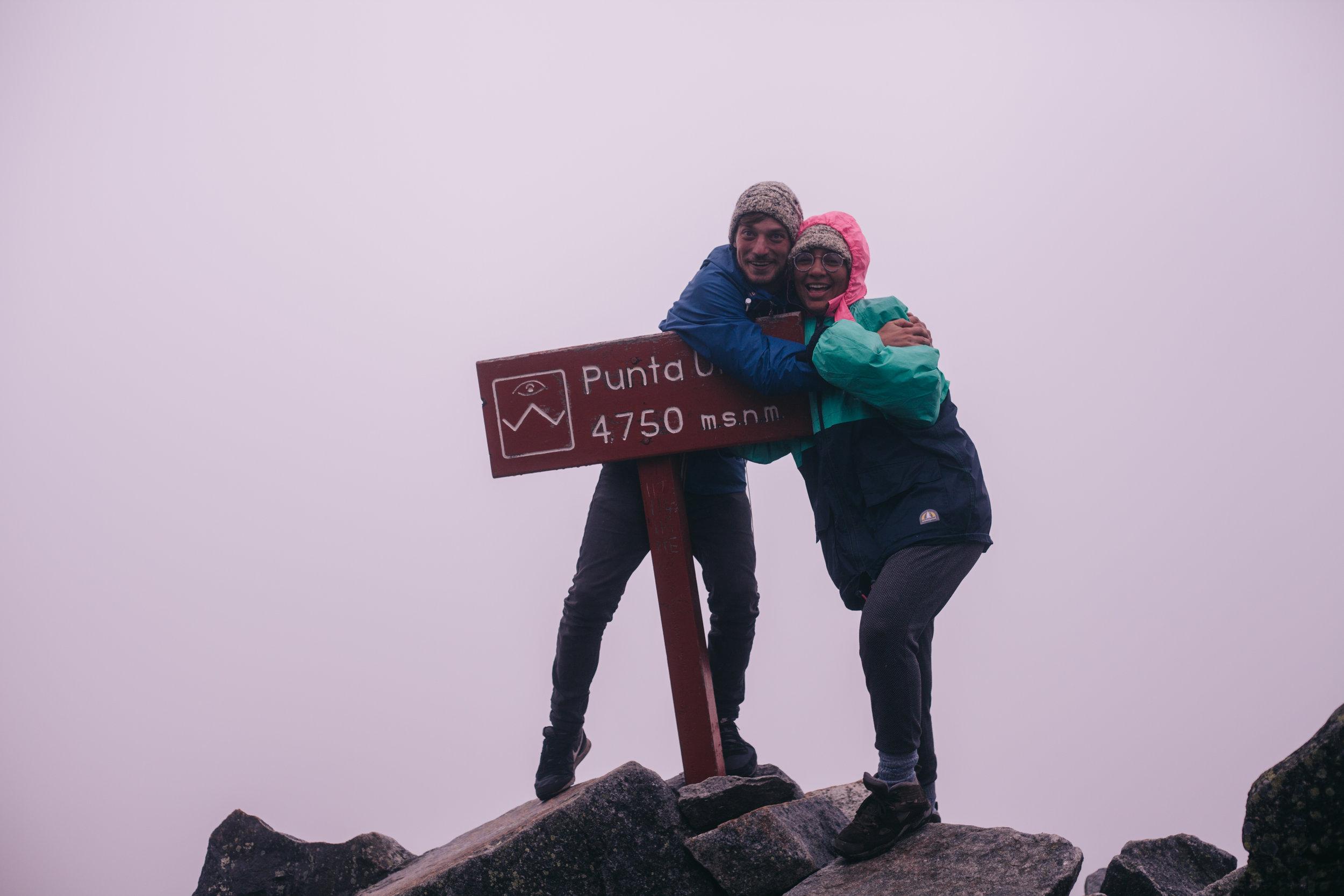 Santa Cruz trek, Peru - Mountain Pass