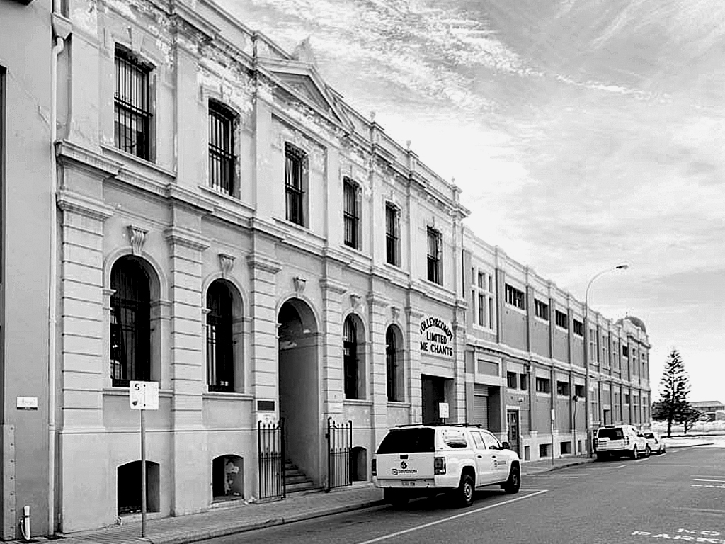 Building Elevation - Pakenham St Fremantle, Perth